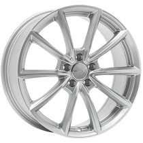 WheelWorld WH28 18x8 Race Silver