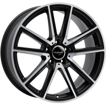 WheelWorld WH30 18x8 Dark Gun Metal Polished