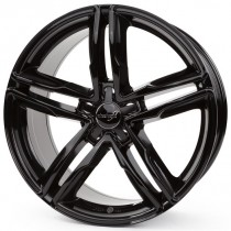 WheelWorld WH11 17x7,5 black glossy