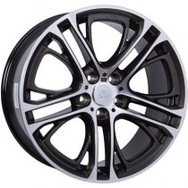 WSP Italy X3 Xenia 20x10 5x120 ET51 72,6 diamond black polished