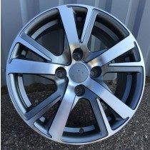 R Line PEXF081 grey polished 15x6 4x108 ET23 65,1