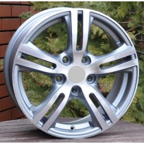 R Line  HYXFA08 grey polished 16x6,5 5x114,3 ET45 67,1