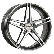 Motec Xtreme 20x8,5 Dark Grey polish