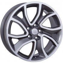 WSP Italy Yonne 18x7 5x114,3 ET38 67,1 anthracite polished