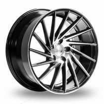 1AV ZX1 19x9,5 Black Polished
