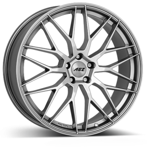 AEZ Crest 19x8 glossy silver