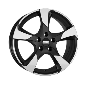 CMS C18 18x8 Diamond Matt Black