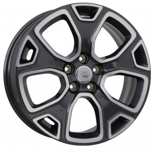 WSP Italy Detroit 18x7 5x110 ET40 65,1 anthracite polished