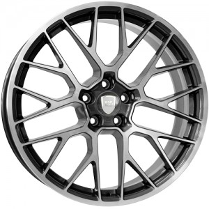 WSP Italy Fuji 20x10 5x112 ET19 66,4 anthracite polished