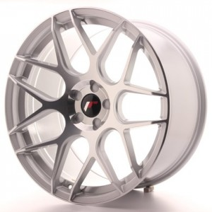 Japan Racing JR18 18x7,5 Blank silver machined