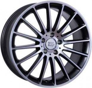 WSP Italy Shanghai 19x9 5x112 ET54 66,6 black polished