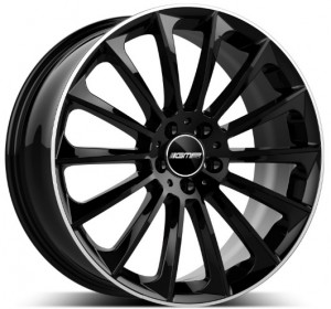 GMP Stellar Black Diamond Lip 22x10.0 5x112