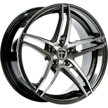 Tomason TN12 19x8,5 5x114,3 ET40 72,6 dark hyperblack polished