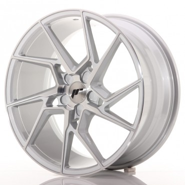 Japan Racing JR33 20x10 blank silver machined