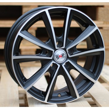 Racing Line M15 15x6 4x108 ET27 65,1 black polished