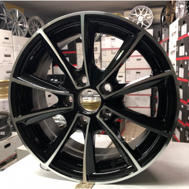 Racing Line RL07 14x6 5x100 ET40 60,1 black polished x8