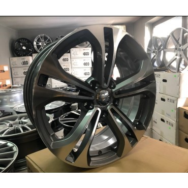 R Line HYBY1249 anthracite polished 17x7 5x114,3 ET40 67,1